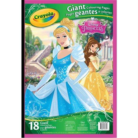 Bloc à colorier géant Princesse Disney®