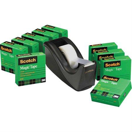 Paquet prime de rubans Scotch® Magic™ avec dévidoir C60
