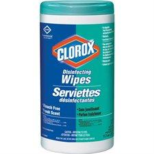 Serviettes désinfectantes Commercial Solutions® parfum frais
