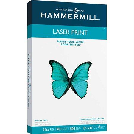Papier Laser Print 24 lb. Paquet de 500. légal