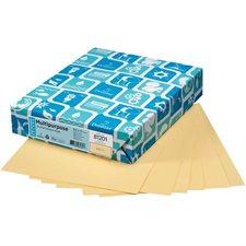 """Papier de couleur à usages multiples EarthChoice® Format lettre - 8-1/2 x 11"""" chamois"""