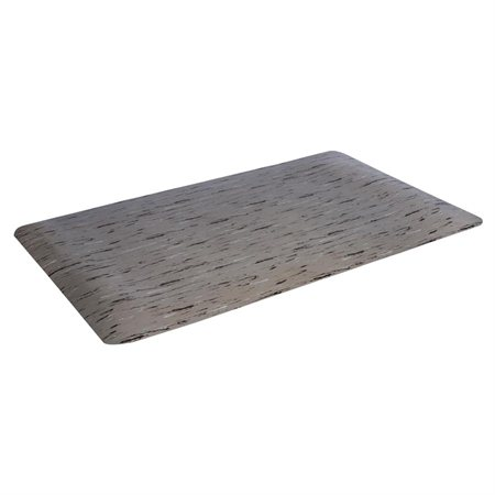 "Tapis anti-fatigue matelassé 24 x 36"" gris"