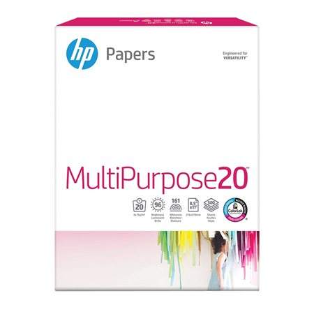 Papier à usages multiples Multipurpose Paquet de 500 lettre