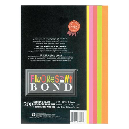 Papier Fluorescent Bond