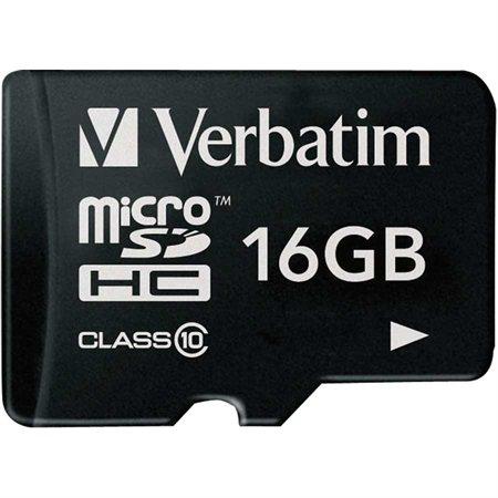 Carte mémoire micro SDHC / SDXC Premium avec adaptateur Classe 10