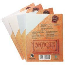Papier Antique Bond Paquet de 400 naturel