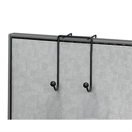 Wire Partition Additions™ Double Coat Hook
