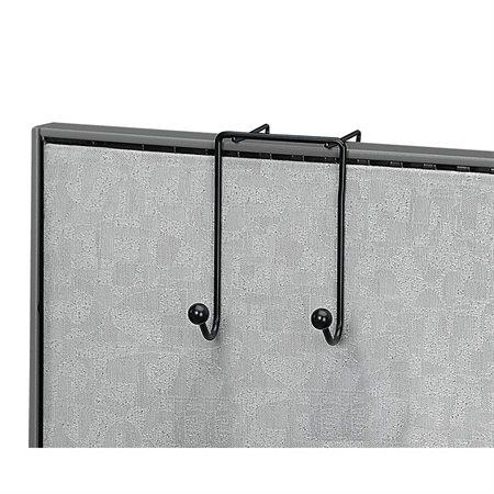 Porte-manteau double crochet en métal Partition Additions™