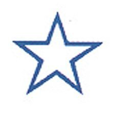 S-Printy 4921 Self-Inking Small Size Stamp STAR