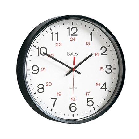 Horloge murale Bates 12 / 24 h
