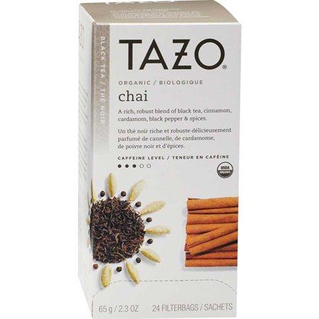 Thé Tazo® Thé noir Chai organique