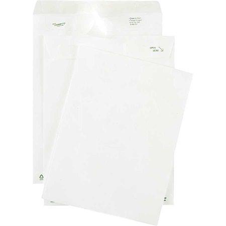 Enveloppe de Tyvek 9 x 12 po. pqt 50