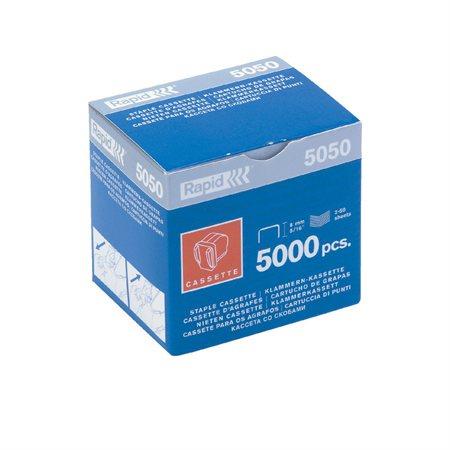 Cartouche de 5000 agrafes pour Rapid 5050