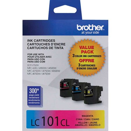 LC1013PKS Ink Jet Cartridges Tri Pack