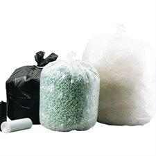 """Sacs à poubelle Extra-résistant. Noir. Boîte de 100. 35 x 50"""""""