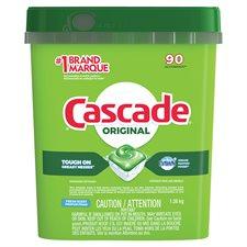 Détergent lave-vaiselle Cascade 2-in-1 Action Pacs® Paquet de 90 parfum frais