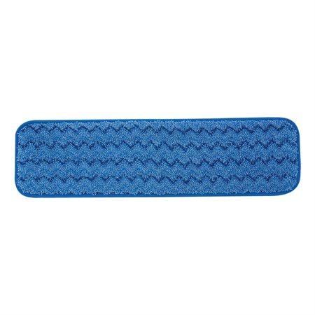 Tampon en microfibre pour système de nettoyage Pulse ™ Usage humide Bleu