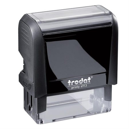 "Printy Self-Inking Custom Stamp 4913 - 7 / 8"" x 2 1 / 4"" (5 lignes)"