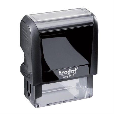 "Printy Self-Inking Custom Stamp 4915 - 1"" x 2 3 / 4"" (6 lines)"