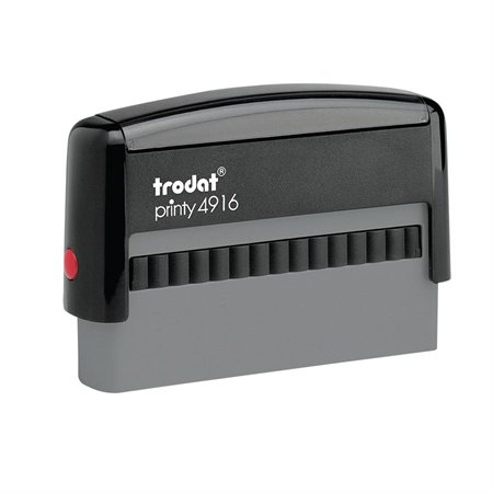 "Printy Self-Inking Custom Stamp 4916 - 3 / 8"" x 2 3 / 4"" (2 lines)"