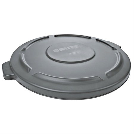 Brute® Round Waste Container Lid grey