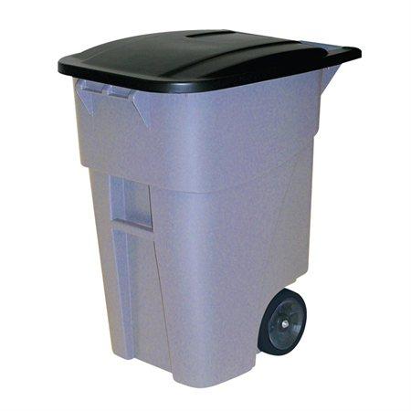 Contenant de recyclage roulant Brute®