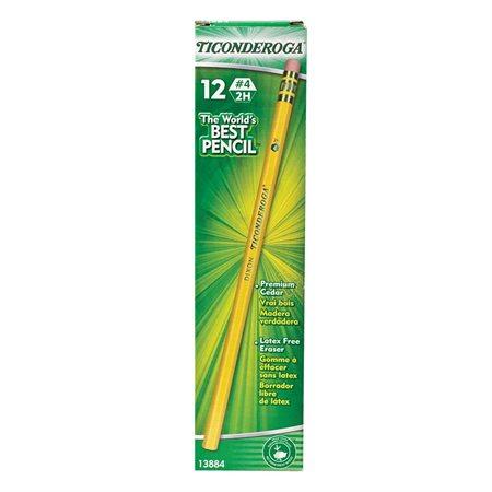Crayons à mine Ticonderoga® Premium Boîte de 12 2H