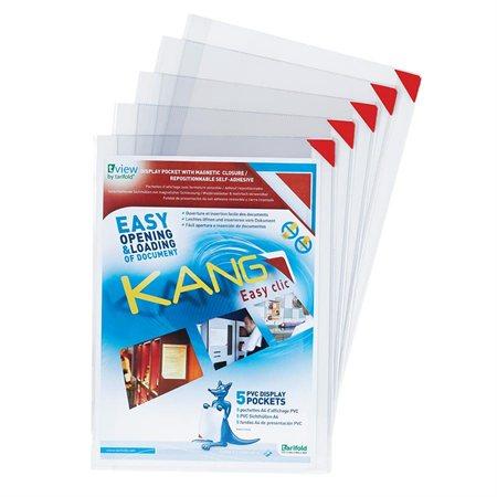 Pochettes à fermeture magnétique Kang