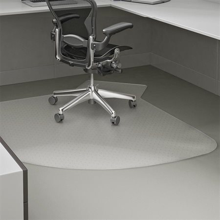 Supermat® L-Workstation Chair Mat