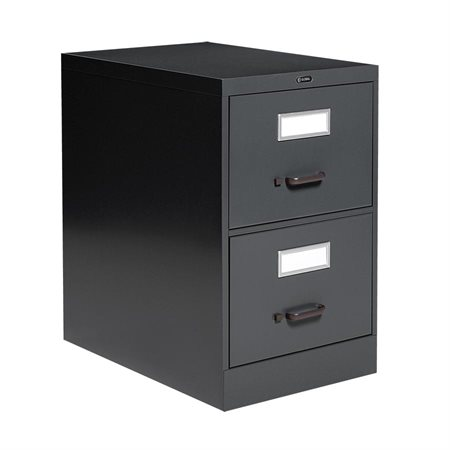 Fileworks® 2600 Legal Size Vertical Filing Cabinets 2 drawers. 29 in. H. black