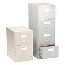 Classeurs verticaux Fileworks® 2600 3 tiroirs, format légal gris