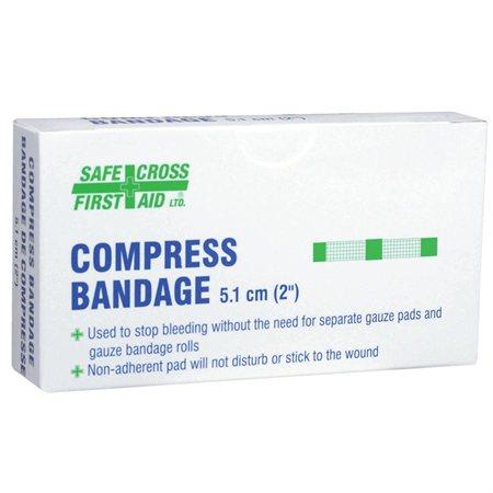 Compresses Compresse pour pansement 5,1 x 5,1 cm (4)
