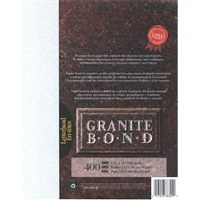 Papier Granite Bond Paquet de 400 gris