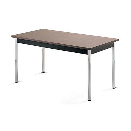 Table de cafétéria rectangulaire