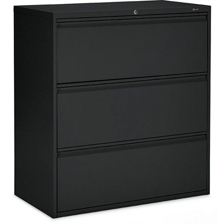 Offices to Go™ MVL1900 Series Lateral Filing Cabinets 3 drawers black