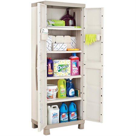 Armoire pour produits d'entretien et de nettoyage 4 tablettes