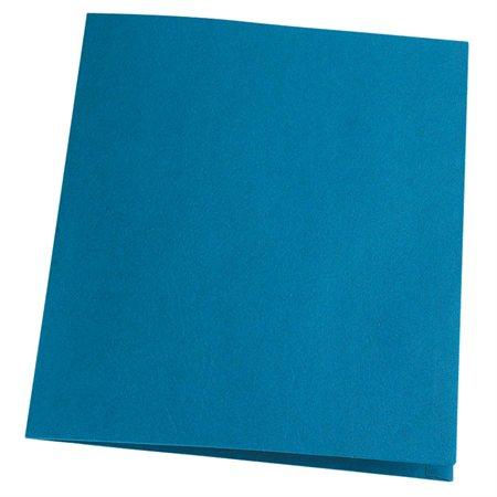 Couverture de présentation recyclée 100 % Earthwise™ Boîte de 25 bleu