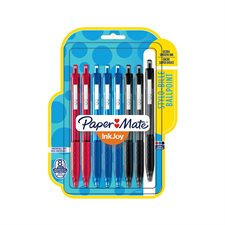 InkJoy™ 300 Retractable Ballpoint Pens Package of 8 assorted business colours
