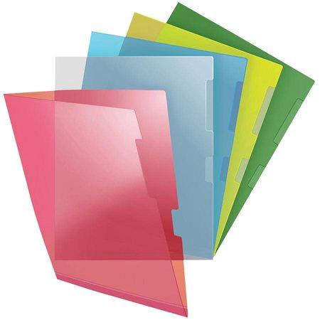 Heavy-Duty Transparent Folders
