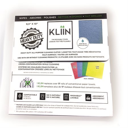 Chiffon tout-usage Kliin