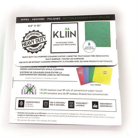 Chiffon tout-usage Kliin vert