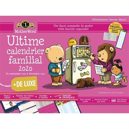Calendrier familial de frigo MotherWord® (2020) 18 x 13-1 / 2 po. français