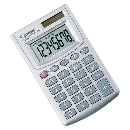 Calculatrice de poche LS-270H