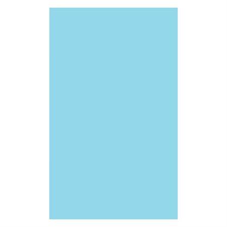 """Arrière de dossier Sans lignes format légal. 8-1 / 2"""" x 14"""". bleu (C89)"""