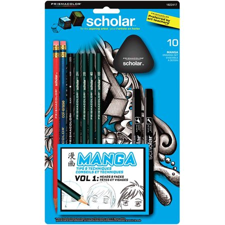 Ensemble à dessin Manga Scholar™