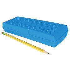 """Boîte à crayons Mini, fond opaque. 7,7 x 3 x 1,25""""."""