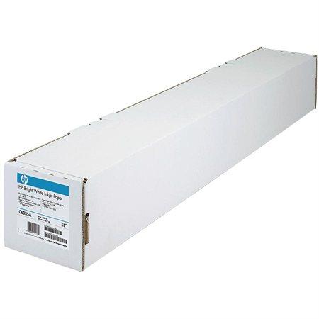 Papier grand format Papier jet d'encre extra blanc 24 po x 150 pi, 24 lb
