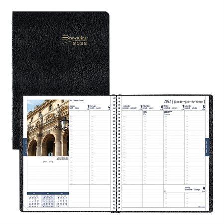 Agenda hebdomadaire / mensuel International (2020)