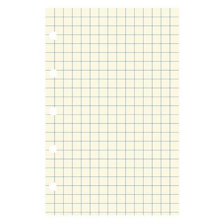 """Recharge Filofax® Format de poche, 5-1 / 2 x 3-1 / 2"""". Pqt de 32 . quadrillée"""