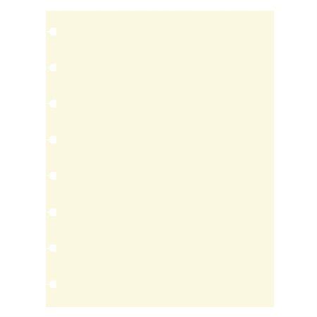 """Recharge Filofax® Format folio, 10-7 / 8 x 8-1 / 2"""". Pqt de 32. unie"""